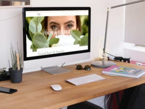 Found Website Imac Mockup