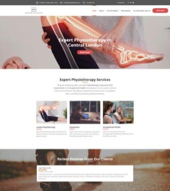 Bespoke-Wellbeing-Website