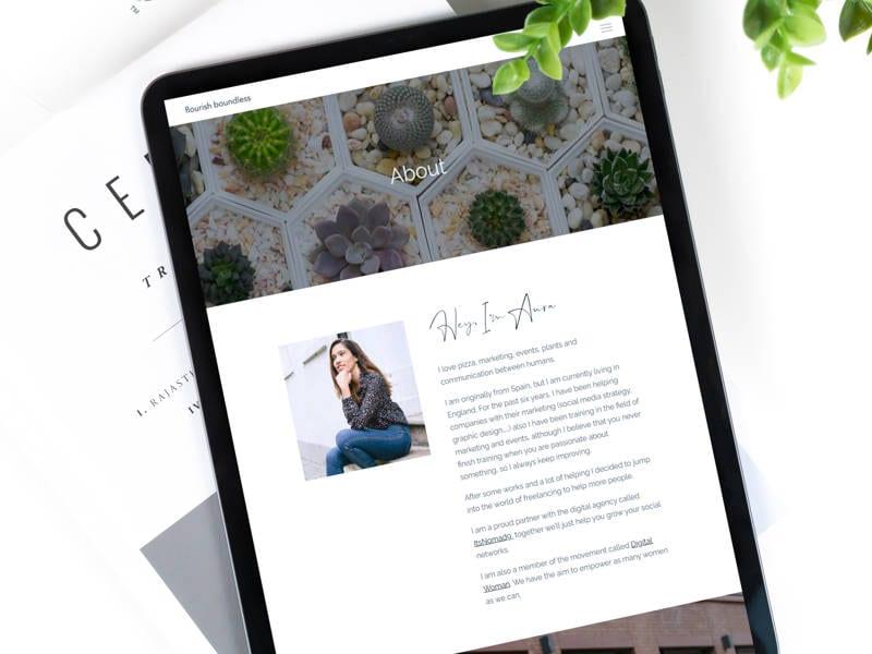 Flourish Boundless Responsive Web Design