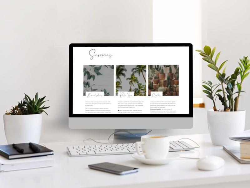 Flourish Boundless Website Design