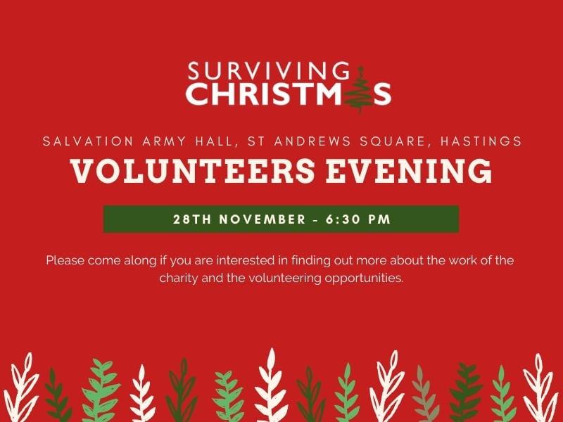 Surviving Christmas Flyer Design