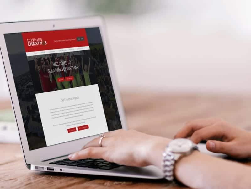 Surviving Christmas Website Design