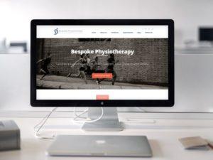 Bespoke Physiotherapy iMac mockup