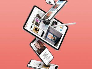 Poppy Carter Design Responsive devices mockup