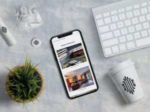 Signature Interiors iPhone mockup