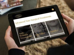 Surgicare Aesthetics iPad mockup
