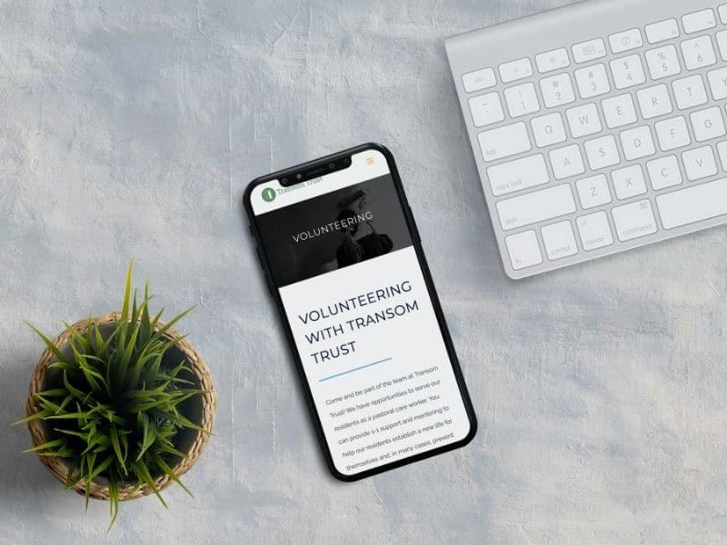 Transom Trust Phone Mockup