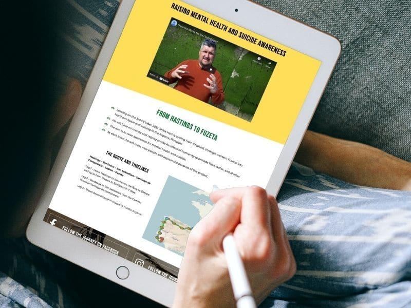 Hart Talk iPad mockup
