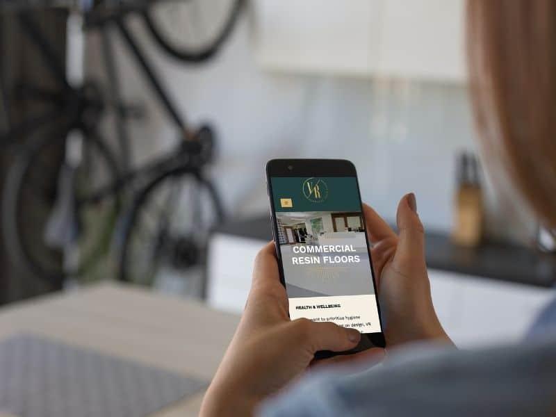 VR Resin Iphone Mockup